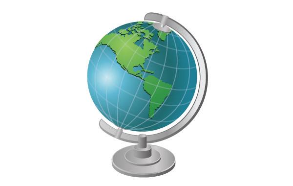 Free Globe Vector 2
