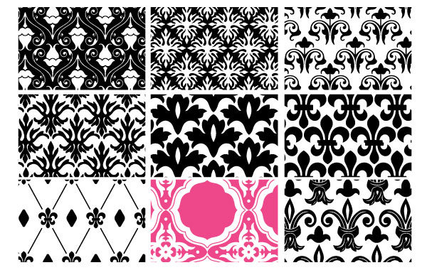 Free Floral Seamless Patterns