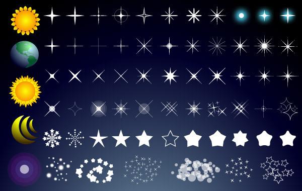 Free Free Vector Stars