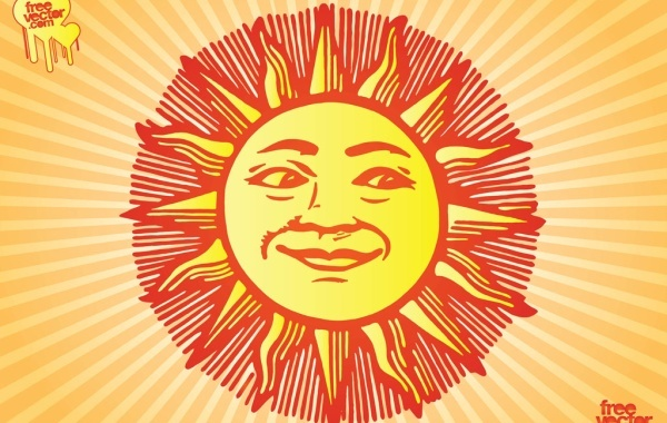 Free Vectors: Sun | Free Vector