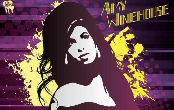 Free Amy Winehouse Vector Art