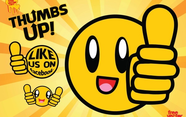 Free Thumbs Up Vector