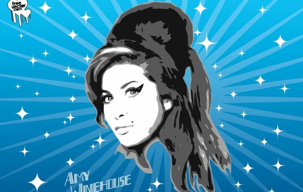 Free Vectors: Amy Winehouse Vector Graphics | Free Vector
