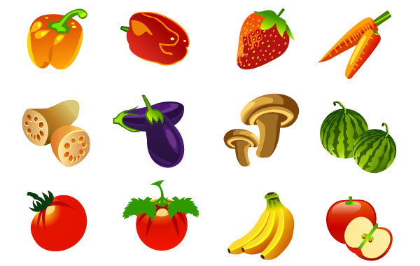 Free Free vector Fruits