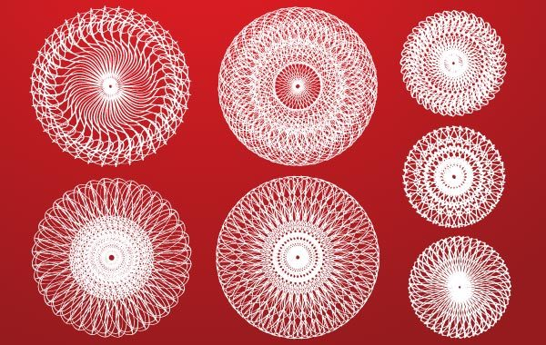 Free Abstract Circle Design Elements