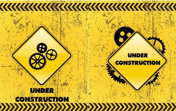 Free Under Construction Backgrounds