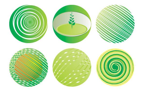 Free Green Globe Vector