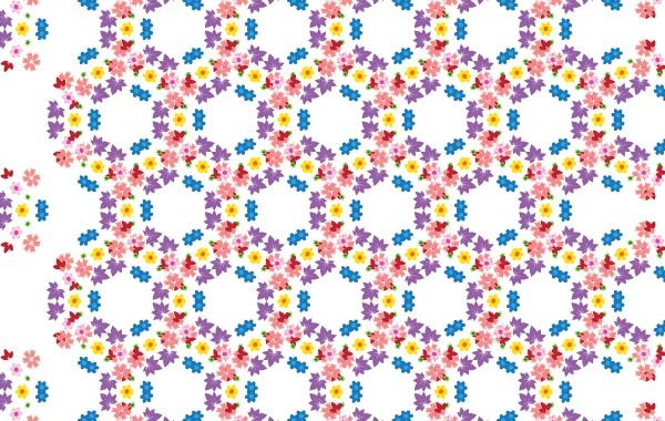 Free Vector Pattern Flowers