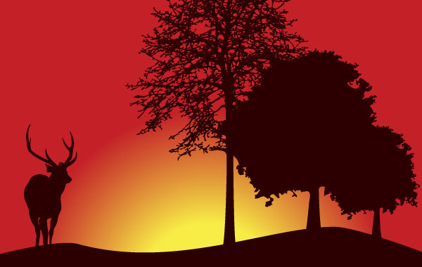 Free Tree Landscape Vector