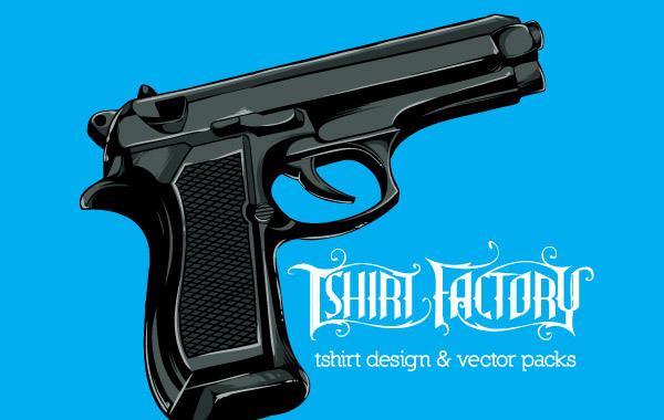 Free Free Vector Gun