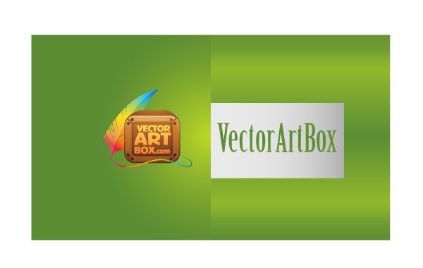 Free Vectors: Modern B-card | vectorartbox