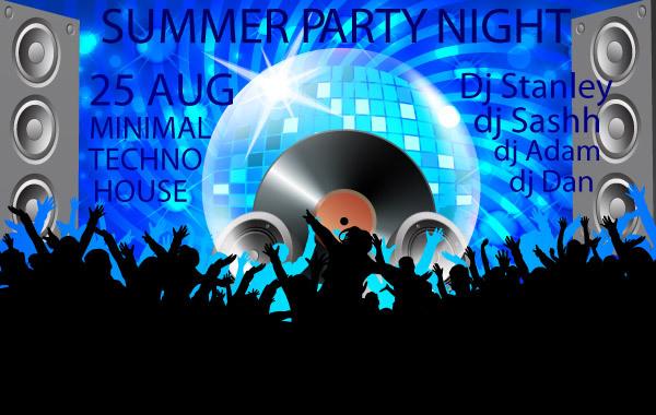 Free Club Poster