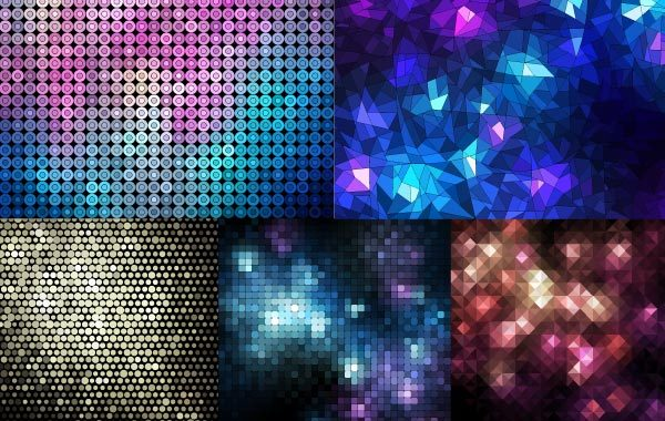 Free Abstract Mosaic Background