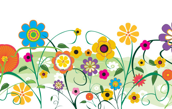 Free Vector flowers and florals