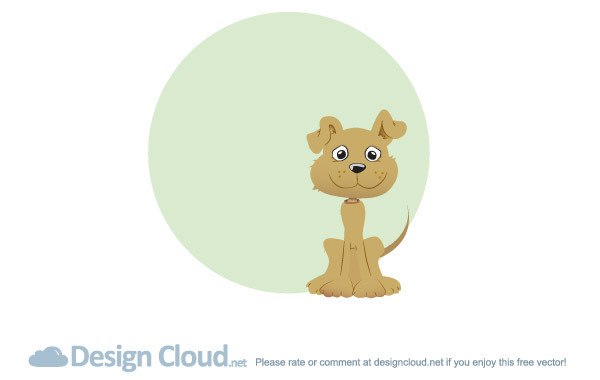 Free Free Vector Dog