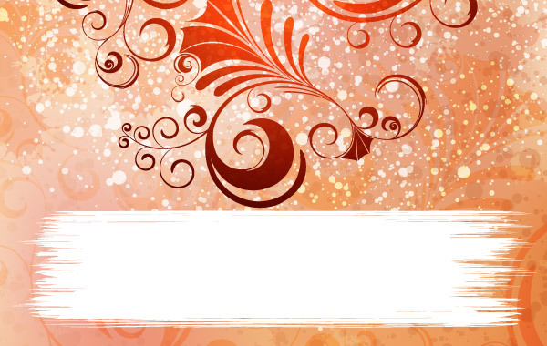 Free Ornamented Vector Background