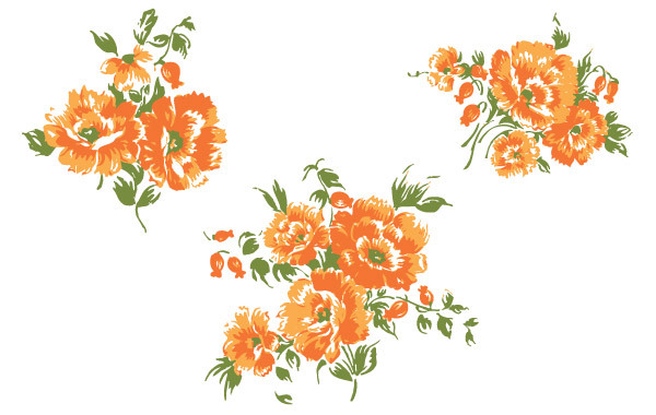 Free Free Flower Vector-3