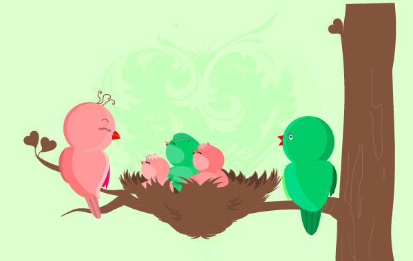 Free Baby Birds