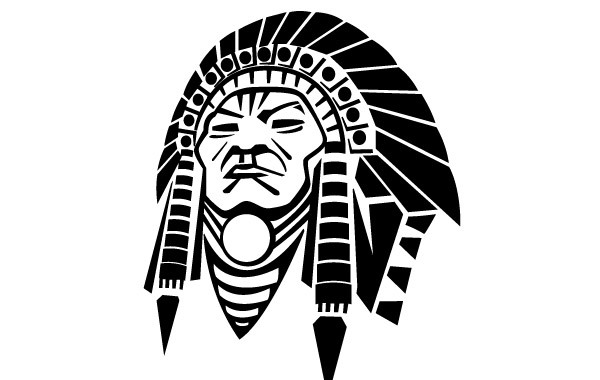 Free Indian Chief Vector Image