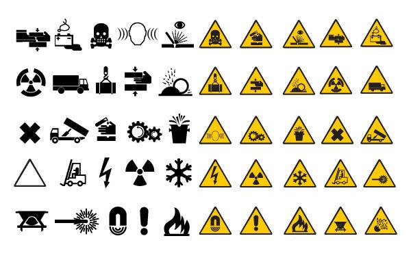Free Warning Road Signs