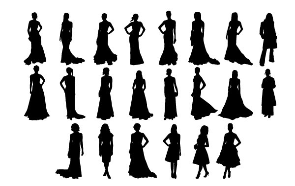 Free Vector Fashion Girls