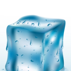 Free Melted Ice Cube