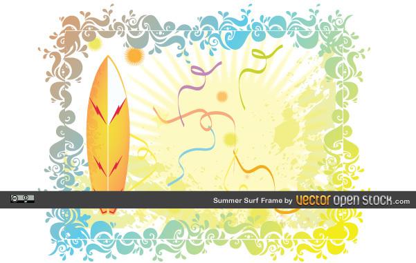 Free Summer Surf Frame