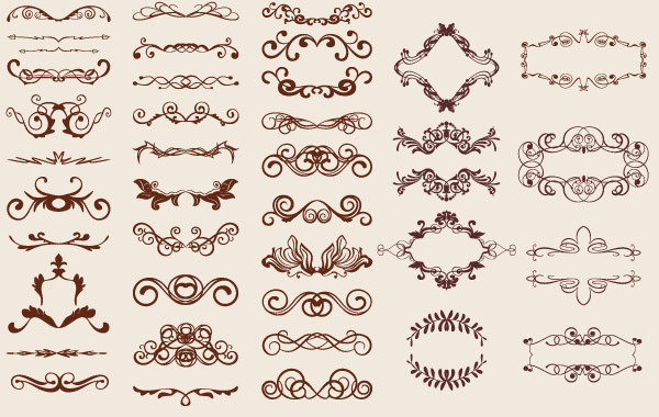 Free Retro Design Elements