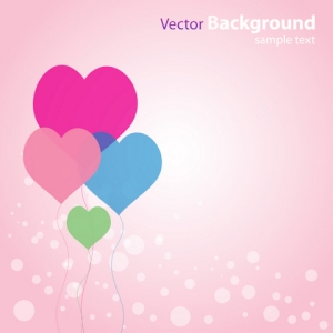 Free Abstract Love Background