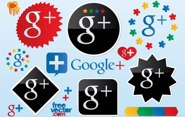 Free Google Plus Vector Logos
