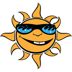 Free Sun With Glasses Vector