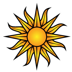 Free Sun Vector