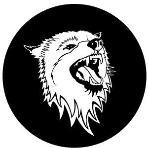 Free Wolf Vector emblem