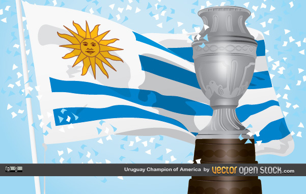 Free Vectors: Uruguay Champion of America | Vector Open Stock