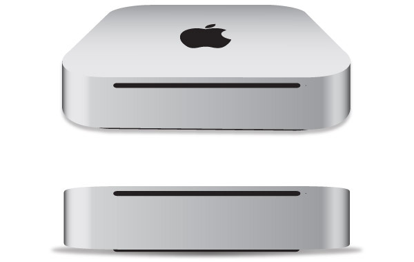 Free Apple Mac mini 2011 free vector