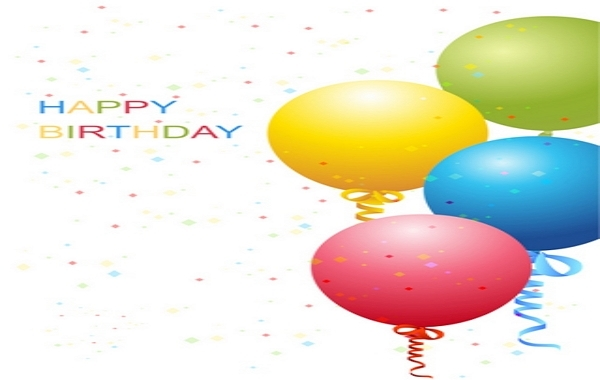 Free Vector Birthday Template
