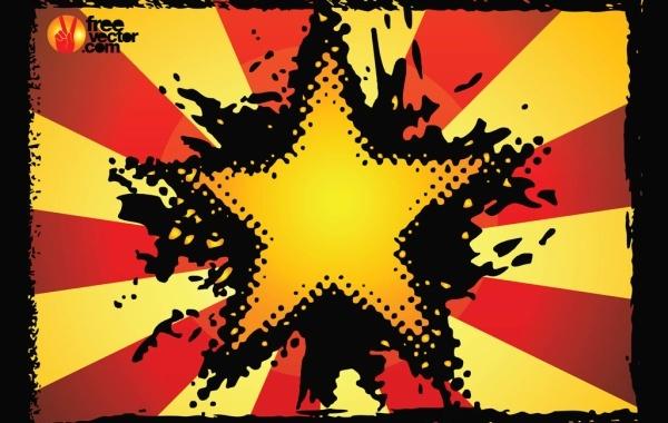 Free Grunge Star