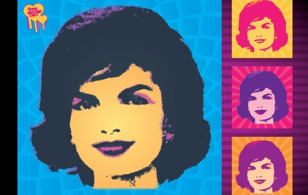 Free Jackie Kennedy Vector