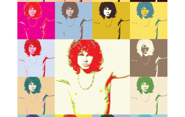 Free Pop Art Jim Morrison The Doors Poster