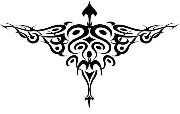 Free Bird Tattoo Style Vector