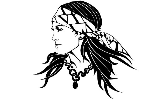 Free Gypsy Woman Image