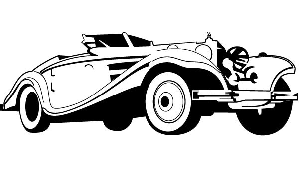 Free Old Car Vector