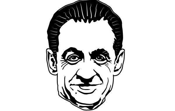 Free Sarkozy Vector Portrait