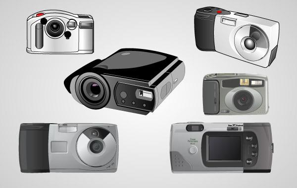 Free Realistic Vector Cameras