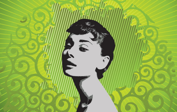 Free Audrey Hepburn Illustration