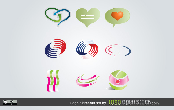 Free Logo Elements Set