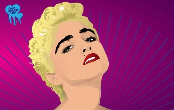 Free Madonna Vector