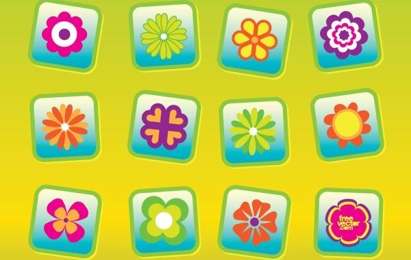 Free Free Flowers Vectors