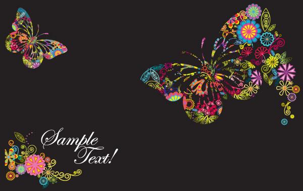 Free Butterflies Designs in Vector Form