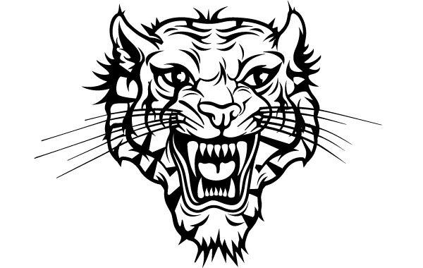 Free Vectors: Tiger Head Vector | VECTOR PORTAL